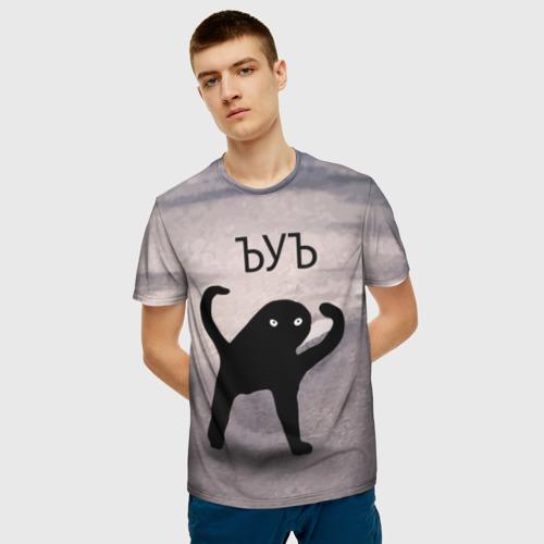 Мужская футболка 3D ЪУЪ СЪУКА (Оригинал) Фото 01