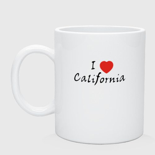 Кружка I Love California