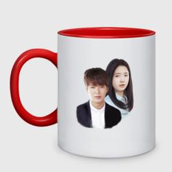 Kim Tan and Cha Eun Sang