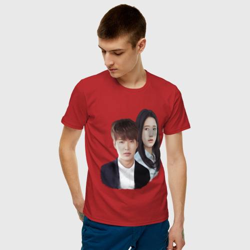 Мужская футболка хлопок Kim Tan and Cha Eun Sang Фото 01