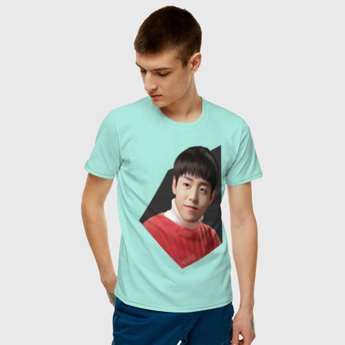 Мужская футболка хлопок Wang Chi Ang Фото 01