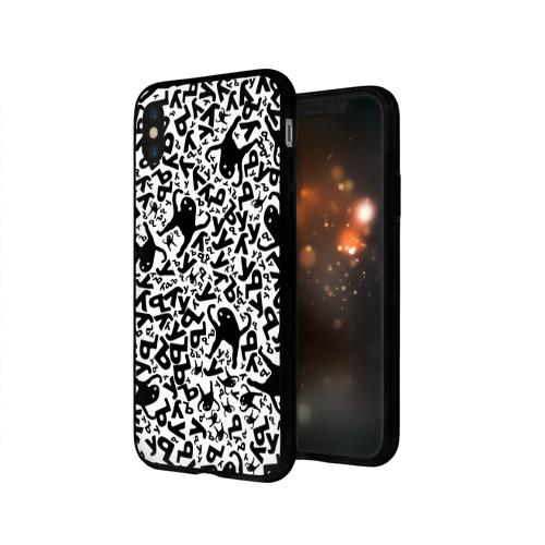 Чехол для Apple iPhone X силиконовый глянцевый ЪУЪ Фото 01