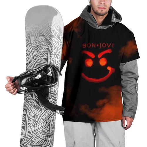Накидка на куртку 3D  Фото 01, Bon Jovi