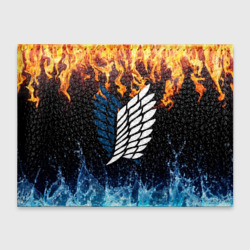 Attack on titan (fire and water emblem)