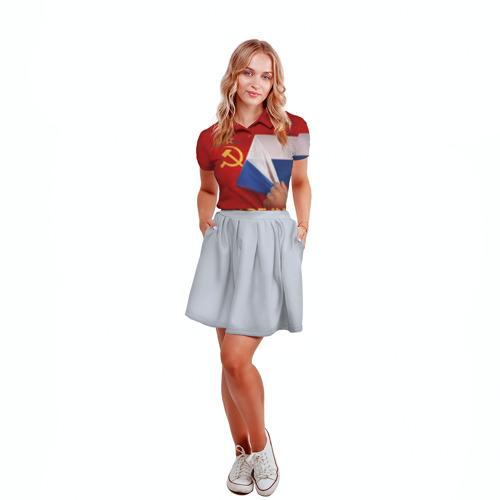 Женская рубашка поло 3D MADE IN USSR Фото 01