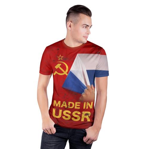 Мужская футболка 3D спортивная MADE IN USSR Фото 01
