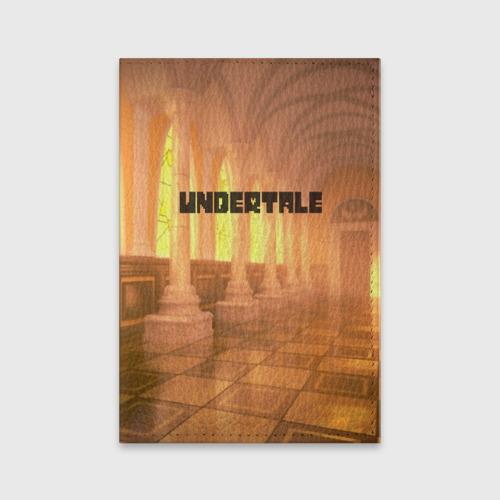 Обложка для паспорта матовая кожа UNDERTALE Фото 01