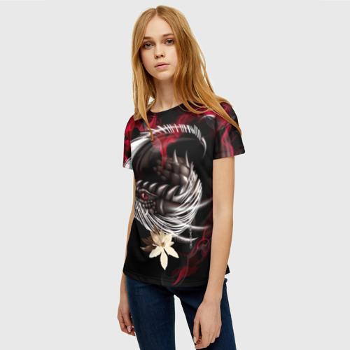 Женская футболка 3D Дракон Фото 01
