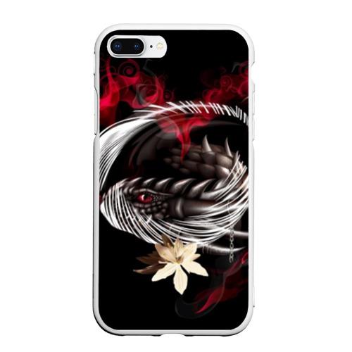 Чехол для iPhone 7Plus/8 Plus матовый Дракон Фото 01