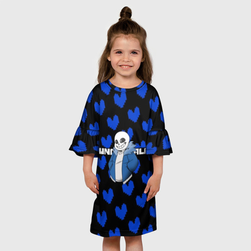 Детское платье 3D Undertale.