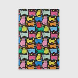 Разноцветные котики