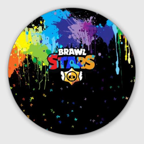 Коврик для мышки круглый Brawl Stars. Фото 01