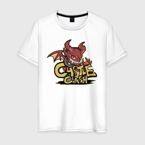 Мужская футболка хлопок Игривый Огнекрыл