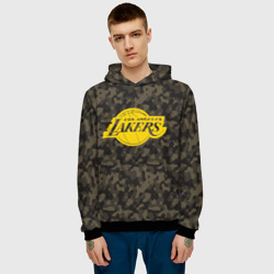 Los Angeles Lakers Camo Gold