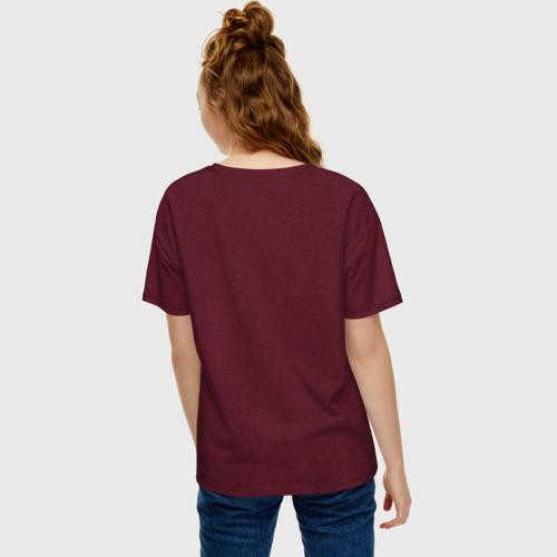 Женская футболка хлопок Oversize BTS (Имена). Фото 01