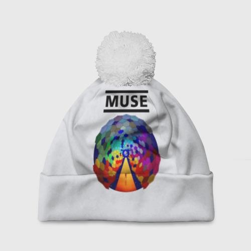 Шапка 3D c помпоном Muse Фото 01