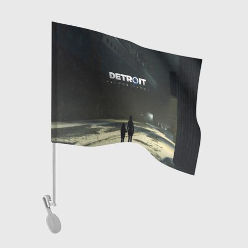 Флаг для автомобиля DETROIT:BECOME HUMAN Фото 01