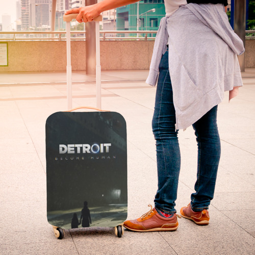 Чехол для чемодана 3D DETROIT:BECOME HUMAN Фото 01