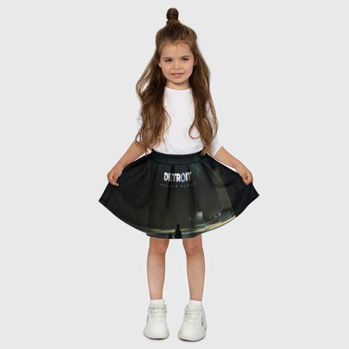 Детская юбка-солнце 3D DETROIT:BECOME HUMAN Фото 01