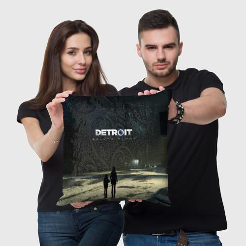 Подушка 3D DETROIT:BECOME HUMAN Фото 01