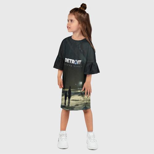 Детское платье 3D DETROIT:BECOME HUMAN Фото 01