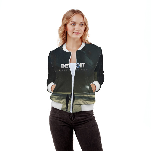 Женский бомбер 3D DETROIT:BECOME HUMAN Фото 01