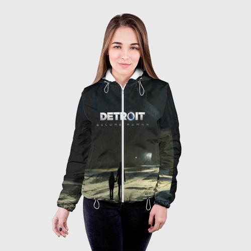 Женская куртка 3D DETROIT:BECOME HUMAN Фото 01