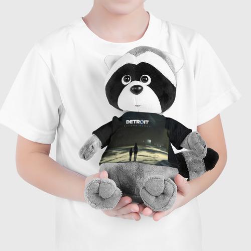 Енотик в футболке 3D DETROIT:BECOME HUMAN Фото 01