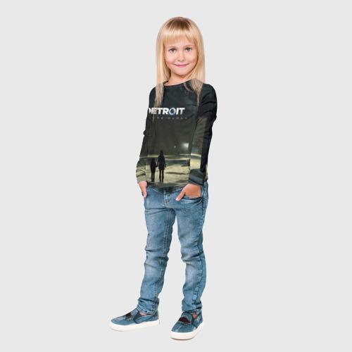 Детский лонгслив 3D DETROIT:BECOME HUMAN Фото 01