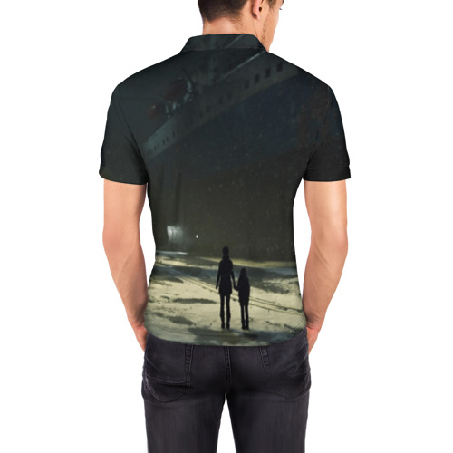 Мужская рубашка поло 3D DETROIT:BECOME HUMAN Фото 01