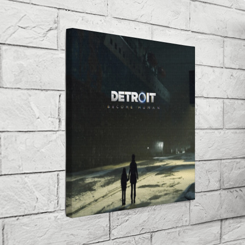 Холст квадратный DETROIT:BECOME HUMAN Фото 01