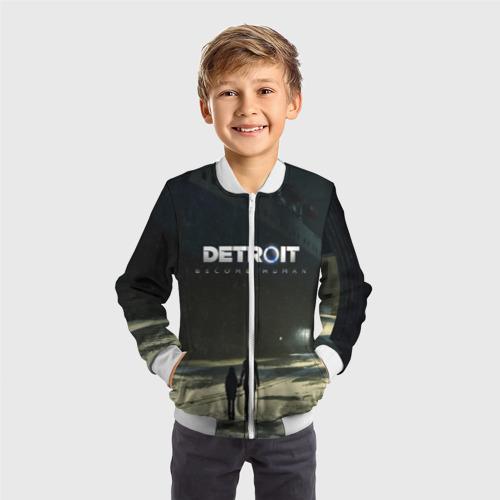 Детский бомбер 3D DETROIT:BECOME HUMAN Фото 01