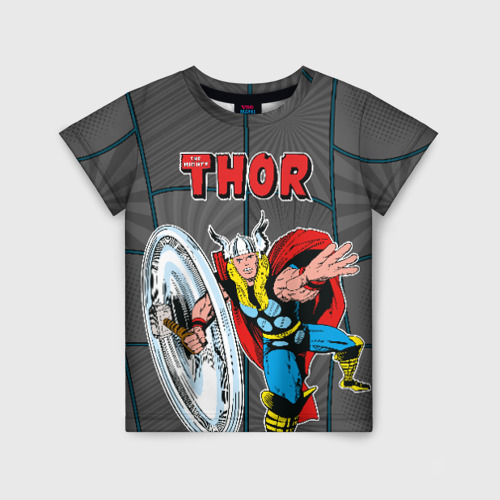 Детская футболка 3D The mighty Thor Фото 01