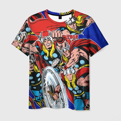 Мужская футболка 3D Thor Фото 01