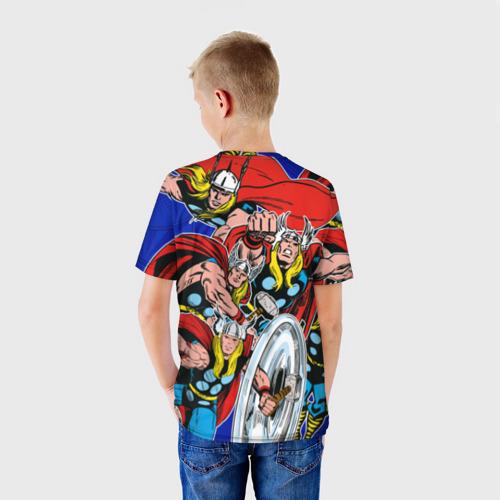 Детская футболка 3D  Фото 02, Thor
