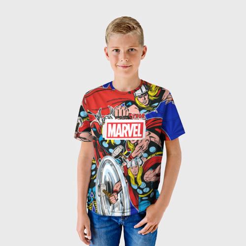 Детская футболка 3D  Фото 01, Thor