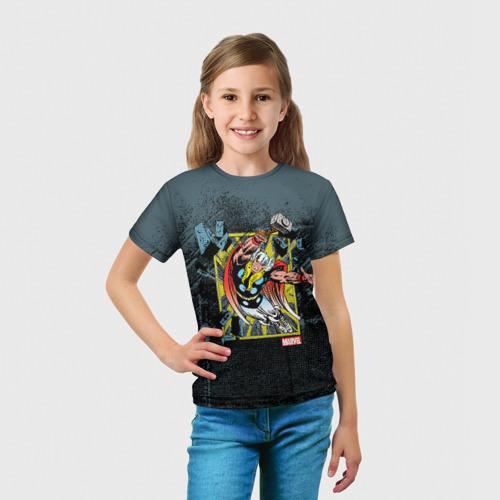 Детская футболка 3D  Фото 03, Молот Тора