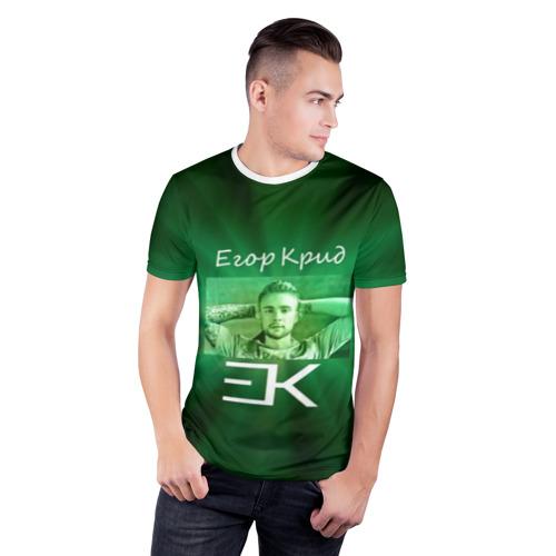 Мужская футболка 3D спортивная  Фото 03, Егор Крид