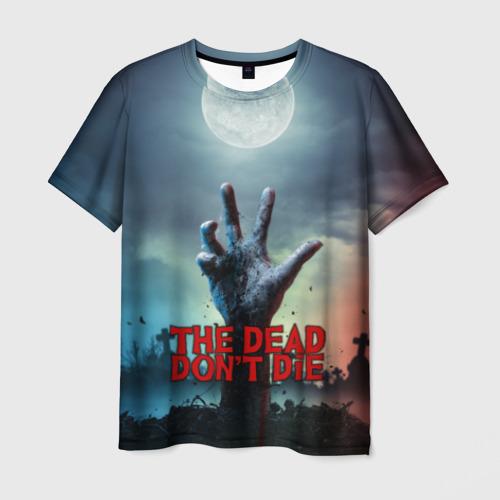 Мужская футболка 3D Мертвые не умирают