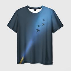 Синий световой меч
