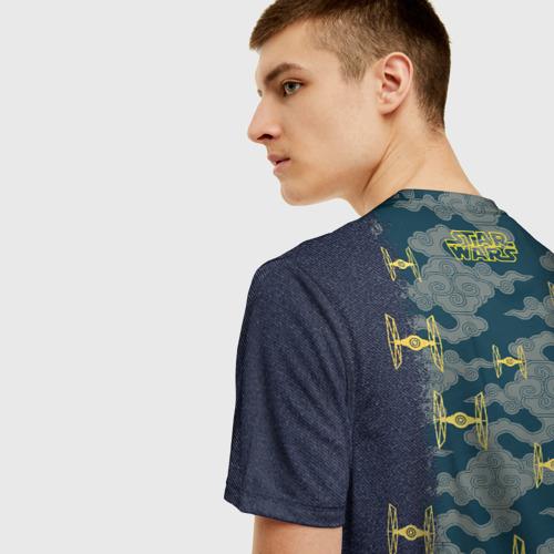 Мужская футболка 3D TIE Fighter  Фото 01