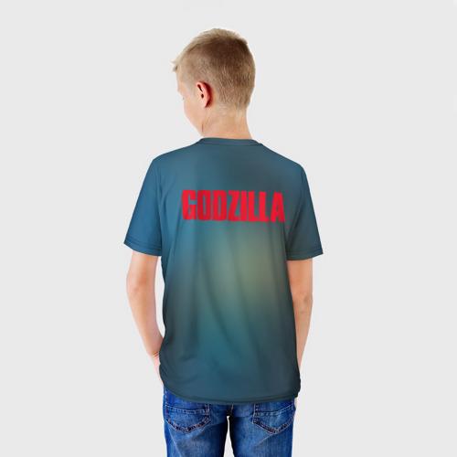 Детская футболка 3D ГОДЗИЛЛА  Фото 01