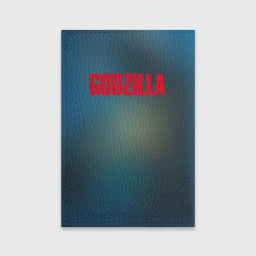 Обложка для паспорта матовая кожа ГОДЗИЛЛА  Фото 01