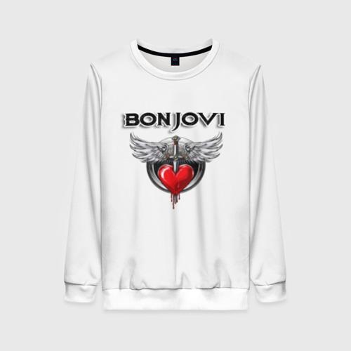 Женский свитшот 3D Bon Jovi Фото 01