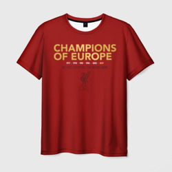 Liverpool Champions of Europe +спина