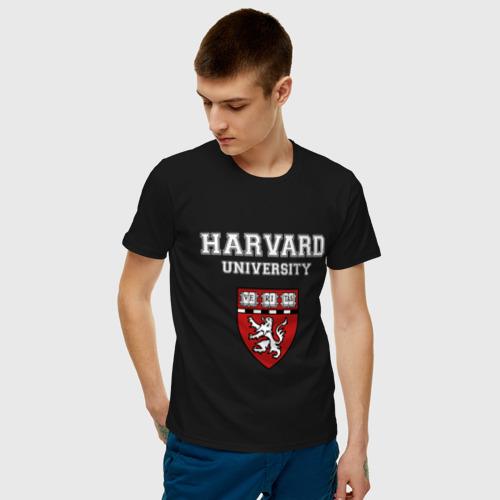 Мужская футболка хлопок Harvard University_форма Фото 01