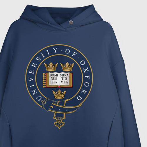 Женское худи Oversize хлопок University of Oxford_форма Фото 01