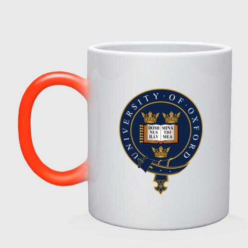 Кружка хамелеон University of Oxford_форма