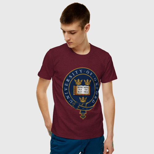Мужская футболка хлопок University of Oxford_форма Фото 01
