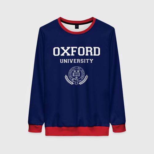 Женский свитшот 3D University of Oxford_форма Фото 01
